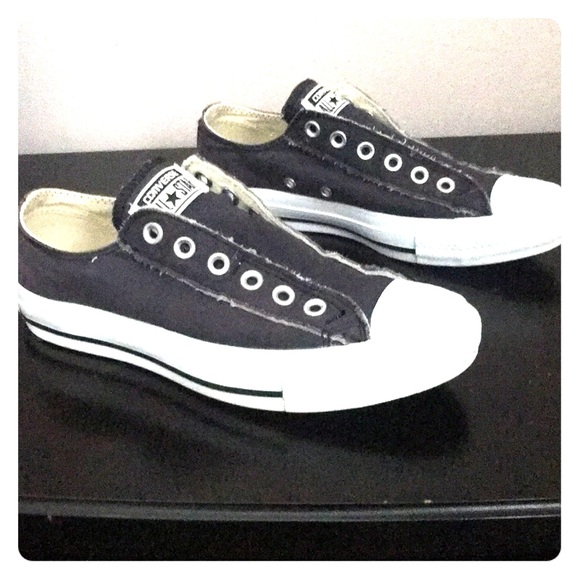 a54d86cd0b9b Converse Shoes - Converse distressed no lace slip on